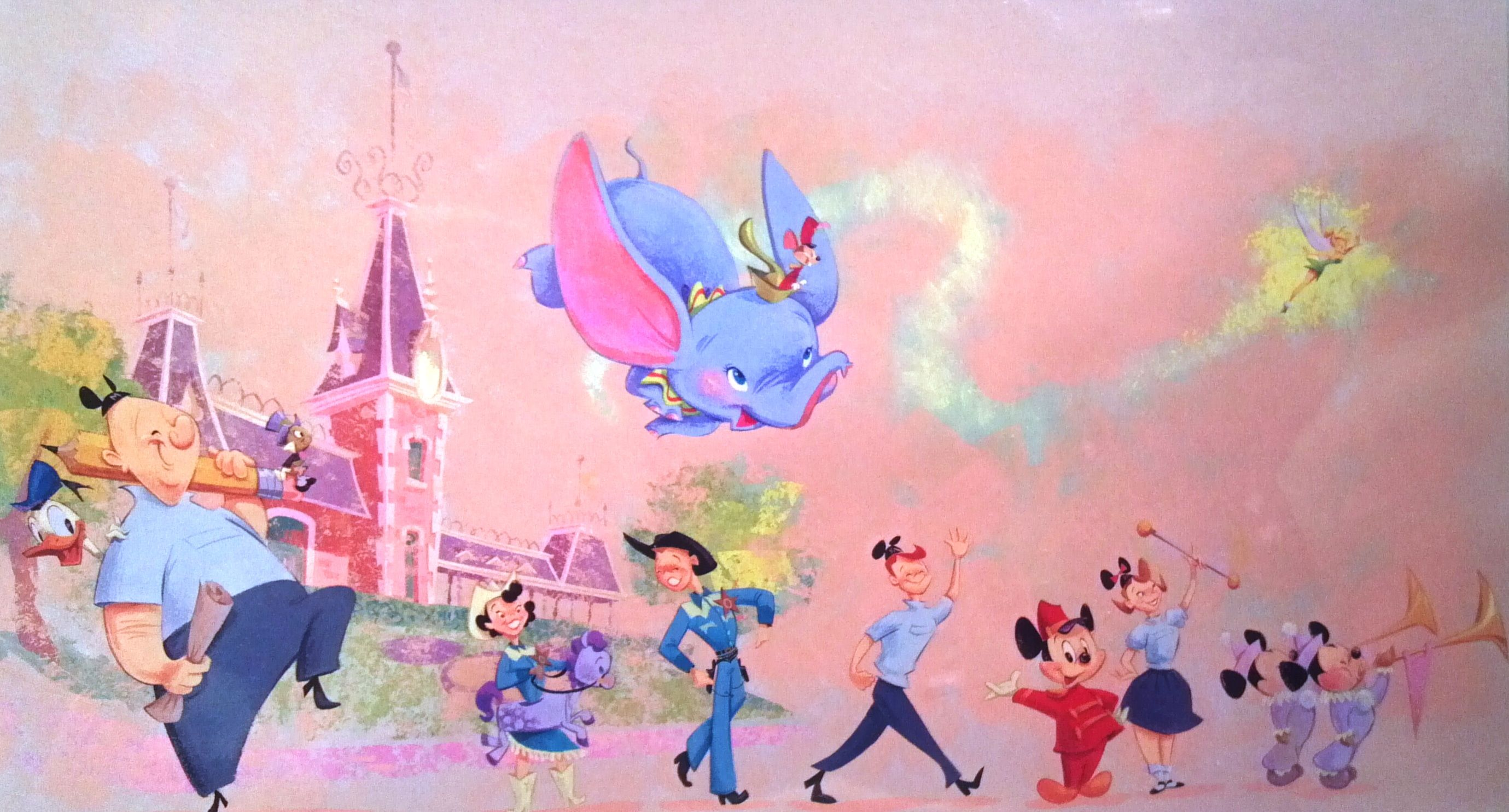 Dumbo, Tinkerbell, Mickey Mouse and more