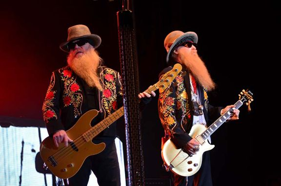 Zz Top At The 2014 Arizona Bike Week 2015 Dates Are March 25 To