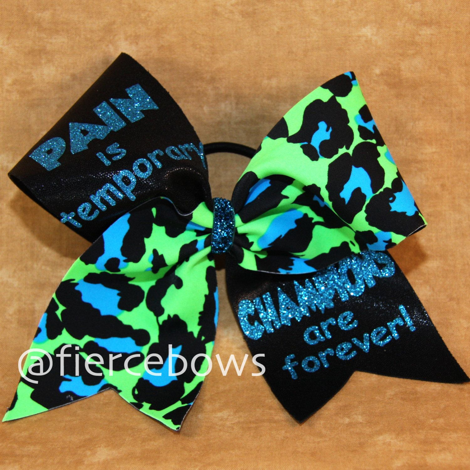Cheer Bow by MyFierceBows on Etsy, $13.00 | Cheer/Dance | Pinterest ...