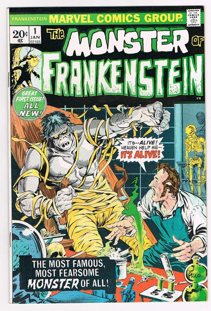 FRANKENSTEIN 1 - MARVEL COMICS 1973 - VF