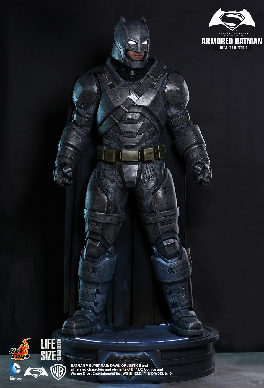 Insane Life Size Armored Batman Figure Will Scare Your Superman