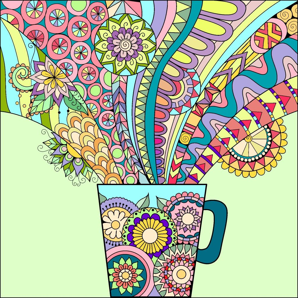 Pin By Lbguy00 On Virtual Coloring Book Happy Colors Coloring Apps Colorful Art