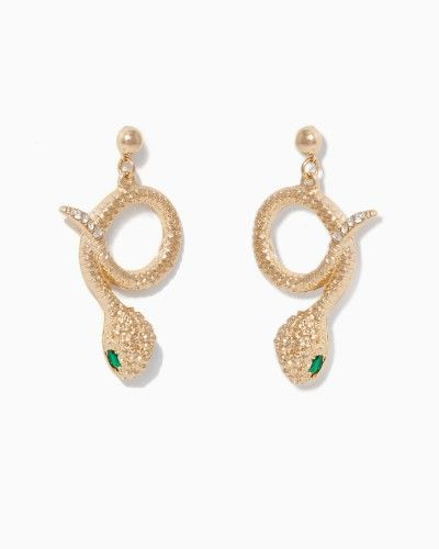 For Goodness Snake Earrings | Fashion Jewelry | charming charlie