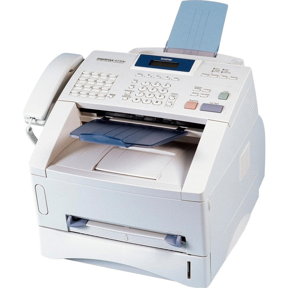 Free 2 Day Shipping Buy Brother Brtppf4750e Ppf4750e Commercial Laser Fax 1 Each Off White At Walmart Com In 2020 Multifunction Printer Printer Modems