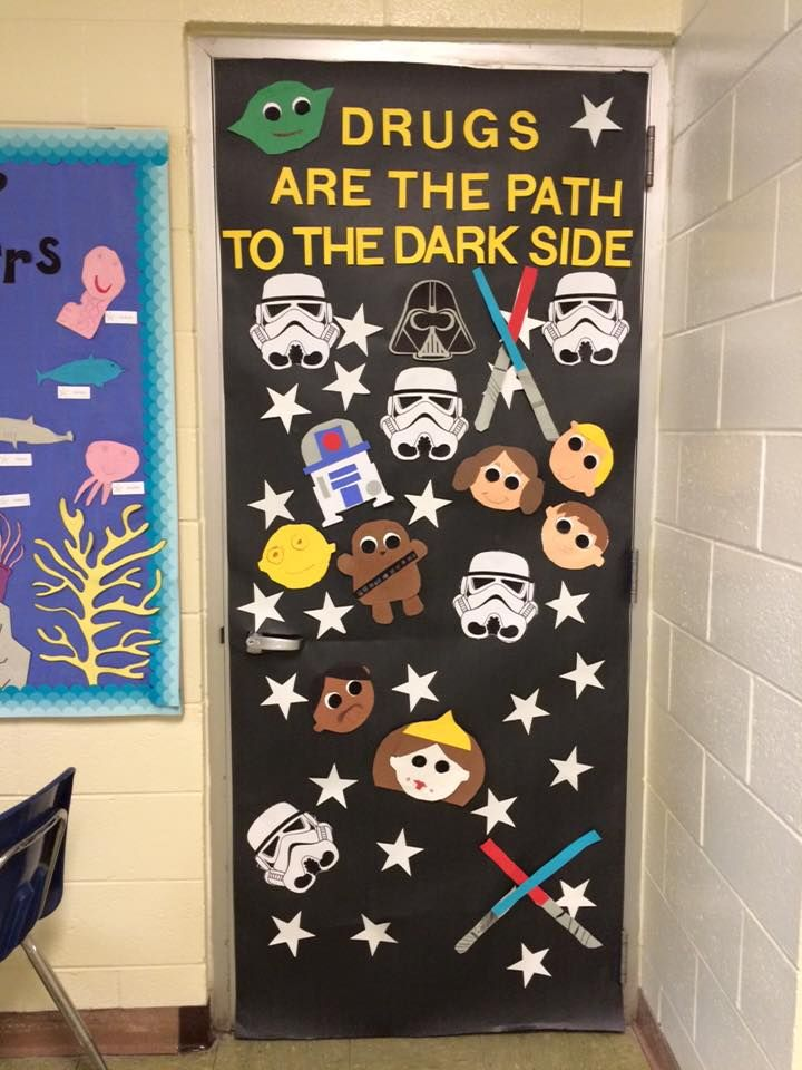 Classroom Door Decoration Ideas For Red Ribbon Week : Red ribbon week so proud of my students and their hard