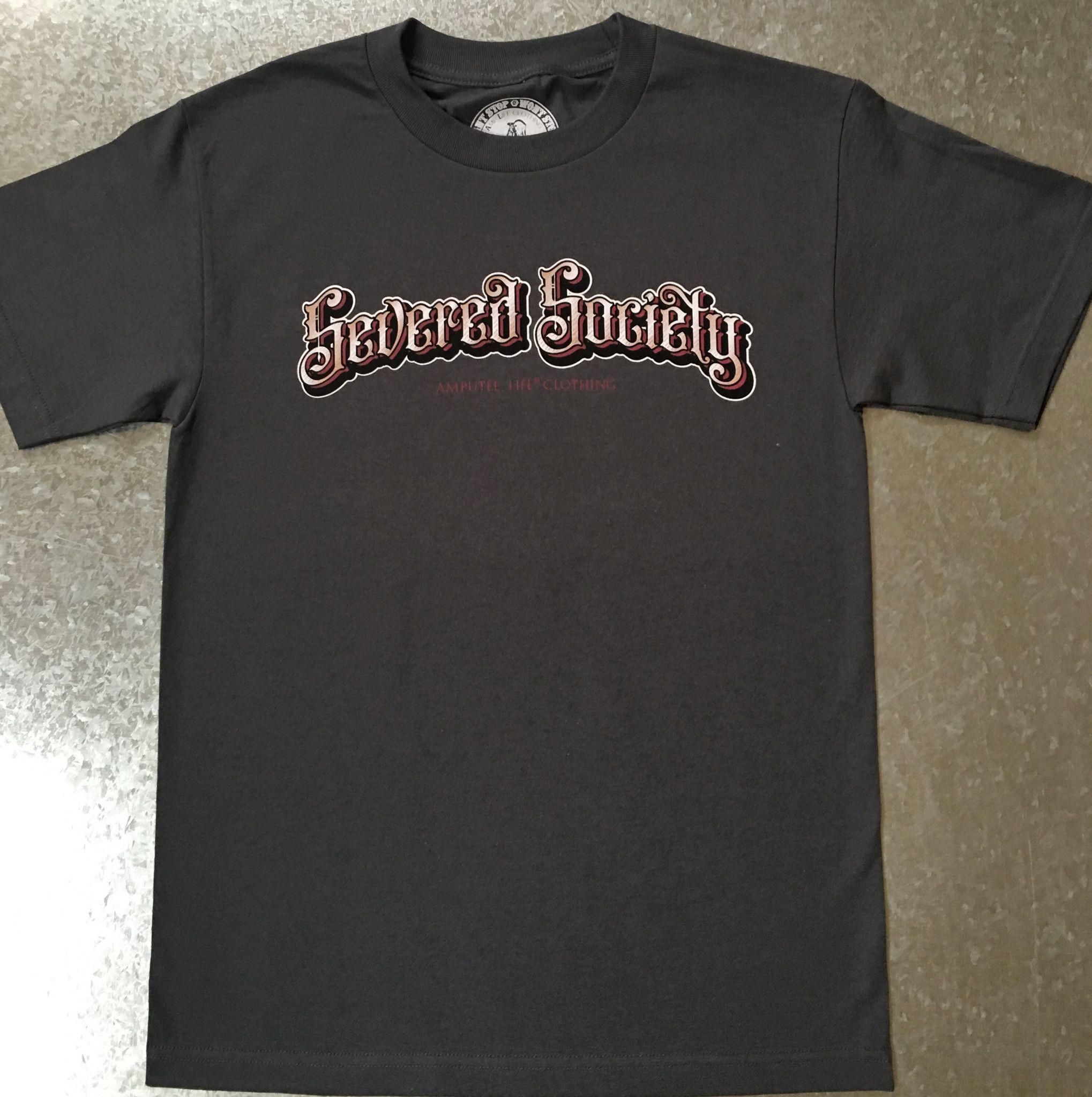 SEVERED SOCIETY™ GREY T-SHIRT