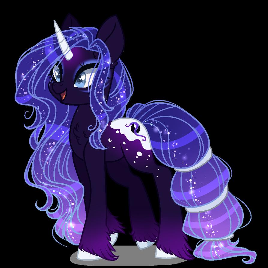 Next Gen Nightyx Redesign By Gihhbloonde On Deviantart My Little