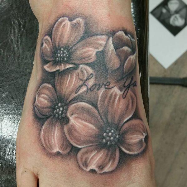 90 Dogwood Flower Tattoo Designs And Meaning Tattos Dogwood