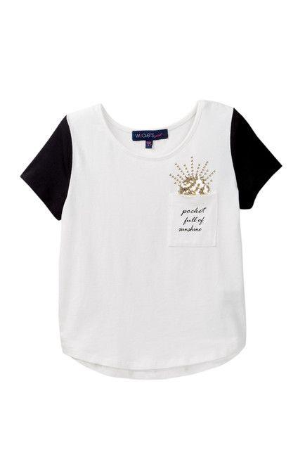 Image of Weavers Pocket Full Of Sunshine Tee (Big Girls)