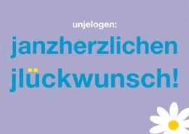 Postkarte: unjelogen: janzherzlischenjlückwunsch   Köln   Pinterest ...
