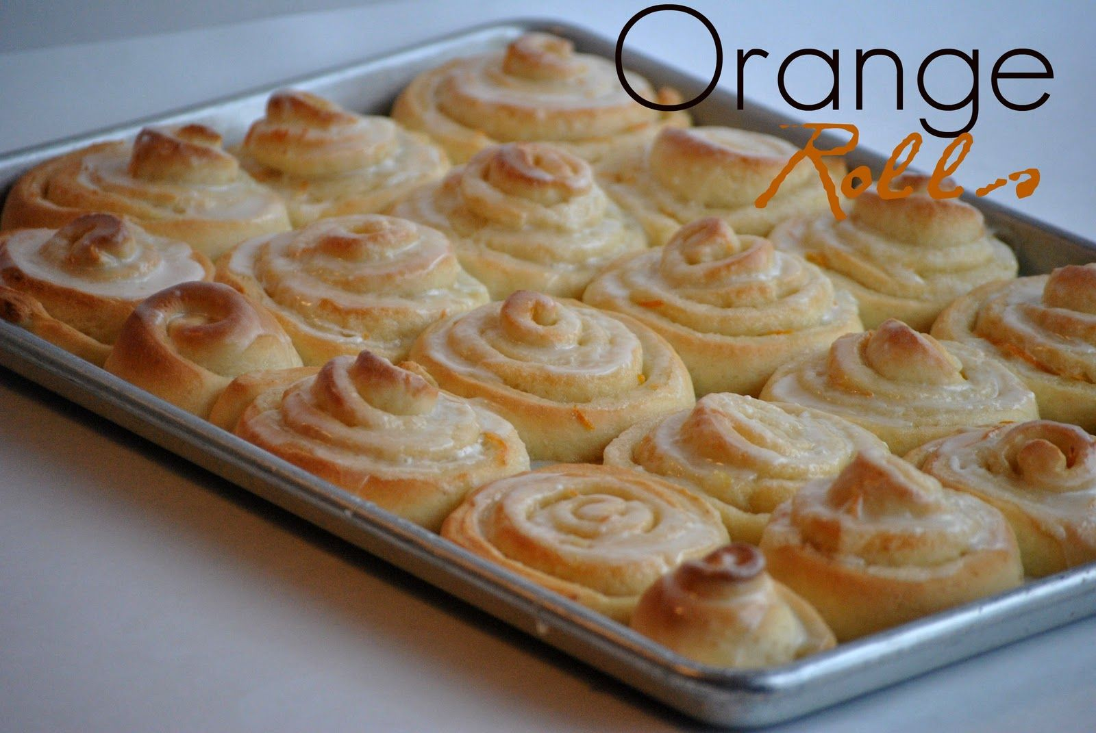 The Farm Girl Recipes: Orange Rolls