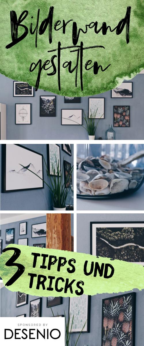 Bilderwand gestalten | Tipps und Tricks für deine Wohnzimmer Dekoration  #wohnzimmerdekorieren