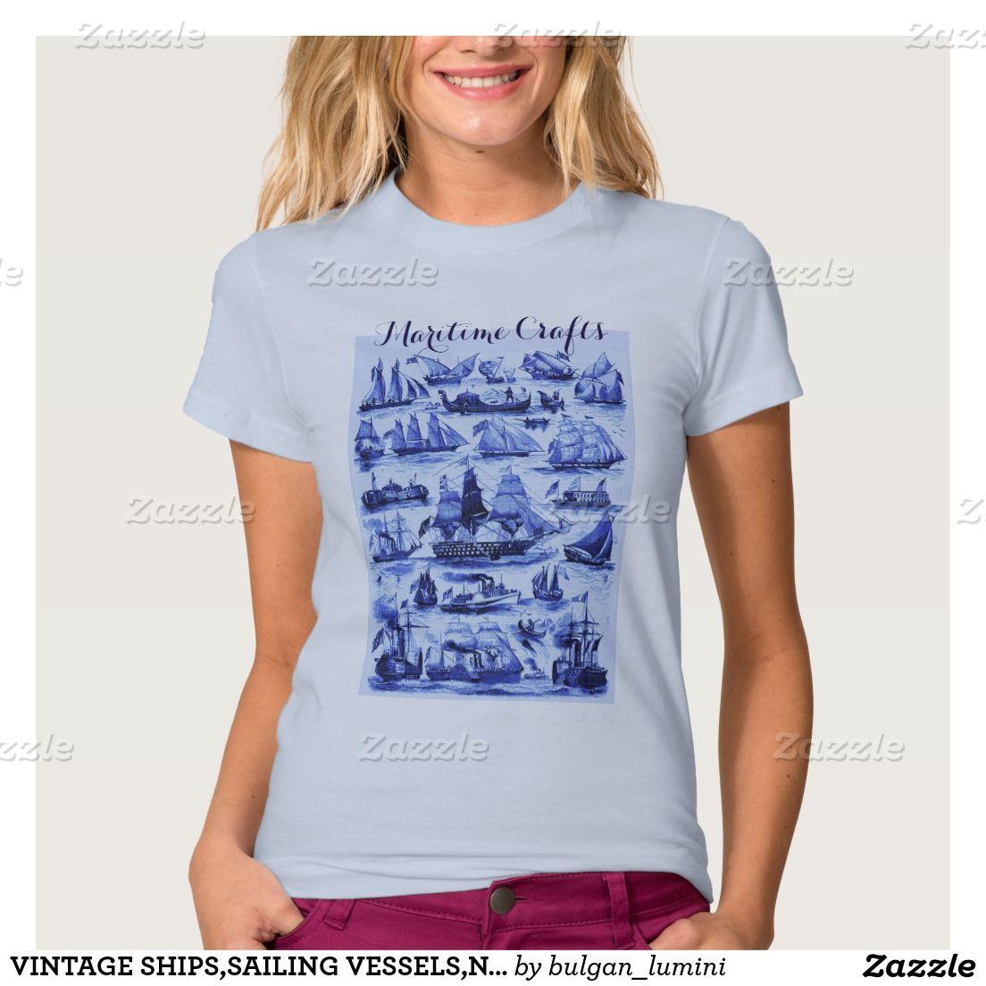 VINTAGE SHIPS,SAILING VESSELS,Navy Blue T-shirt