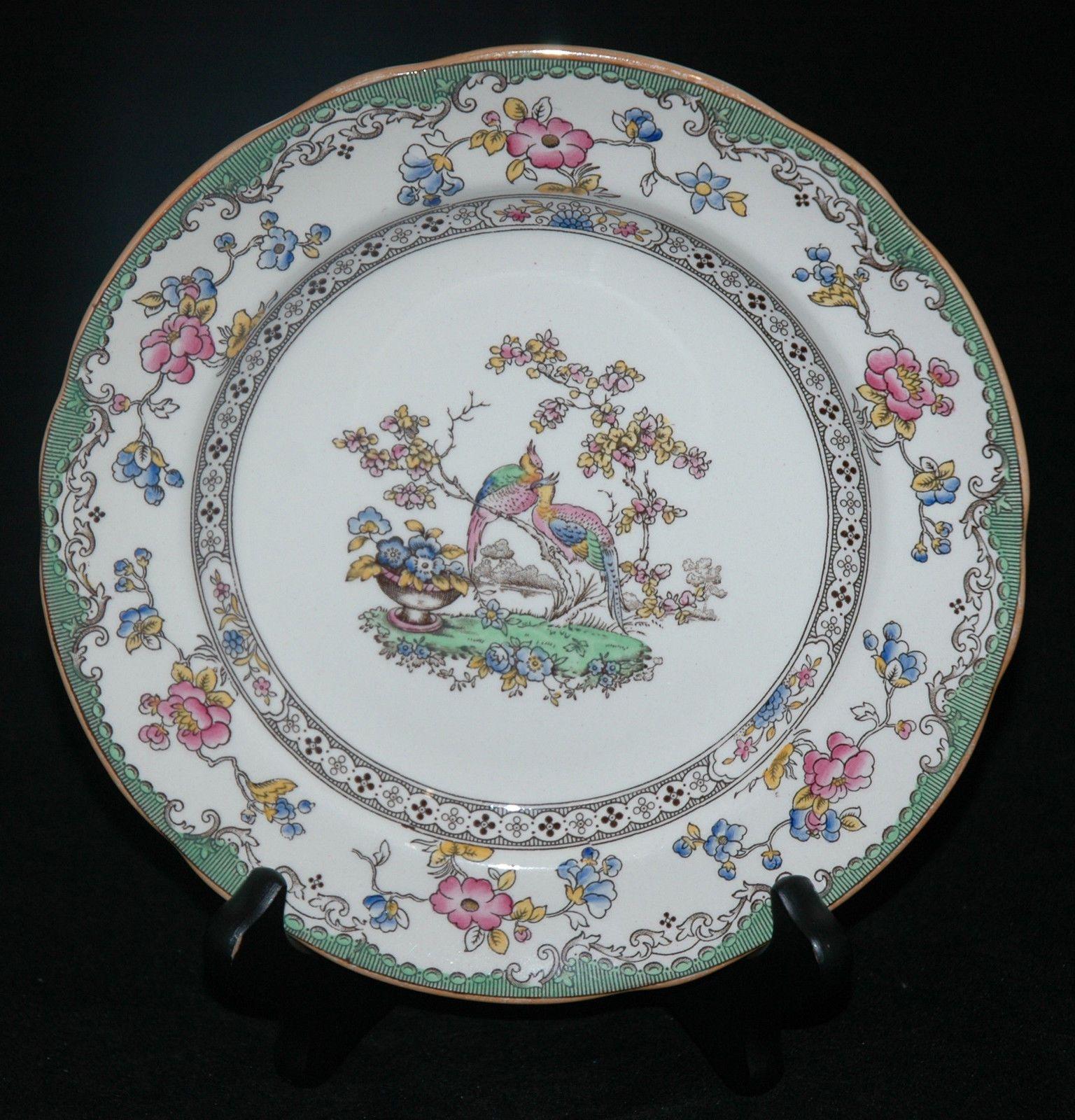COPELAND SPODE CHINA SALAD PLATE EDEN PATTERN & Copeland spode china salad plate eden pattern   Salad plates China ...