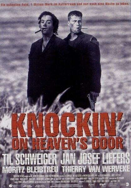 Knockin On Heaven S Door Knockin On Heaven S Door 日本語訳 映画 ポスター 外国映画 映画