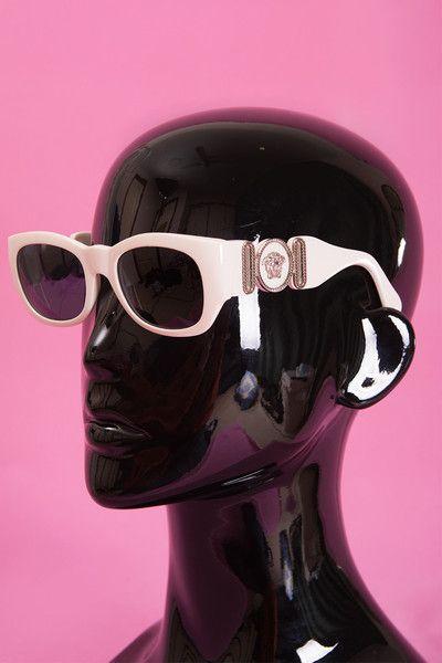 2f153b6298 Vintage Gianni Versace Medusa Sunglasses Mod 413 B Col 850  irvrsbl ...