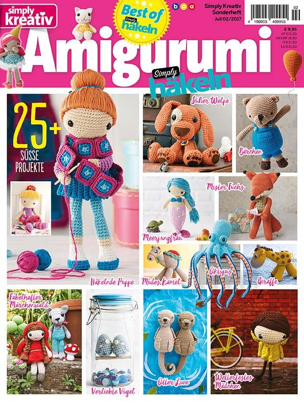 Best Of Simply Häkeln Amigurumi Vol 2 Häkeln Pinterest Amigurumi