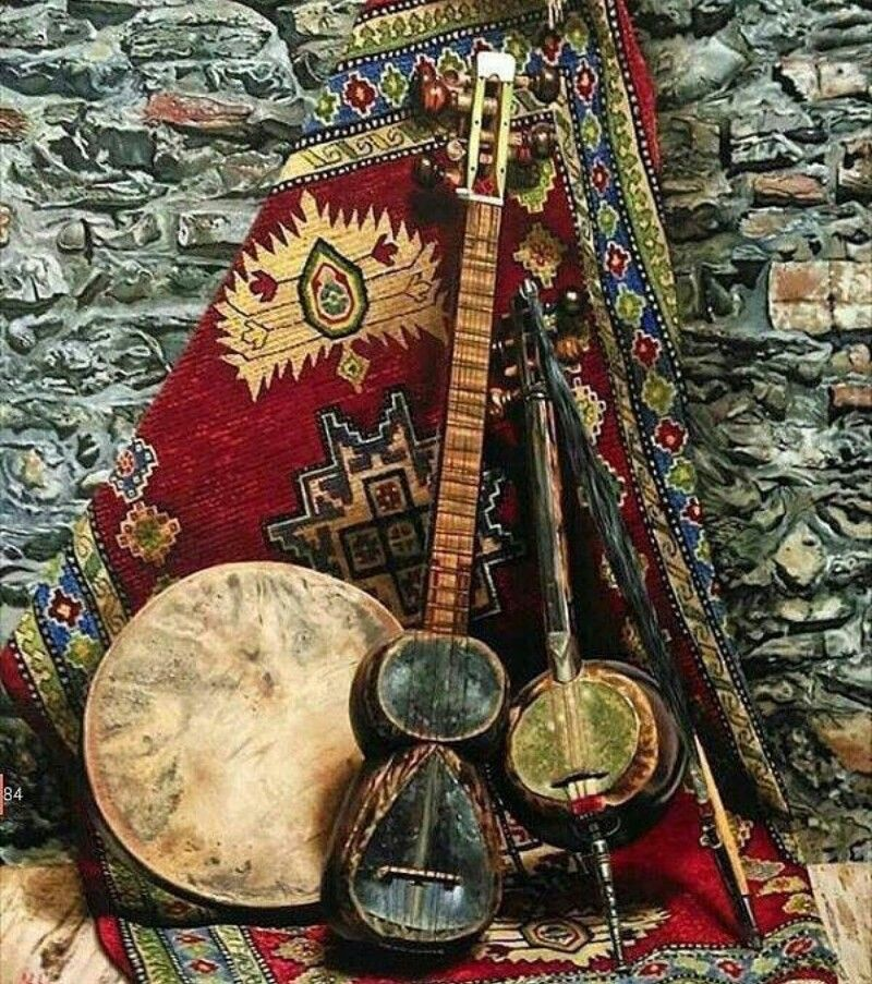 Azerbaijan Art Musical Art Painting