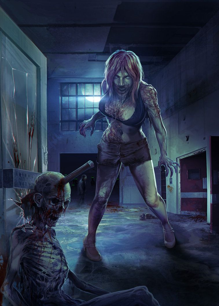 Sex of the dead zombie big girl 2