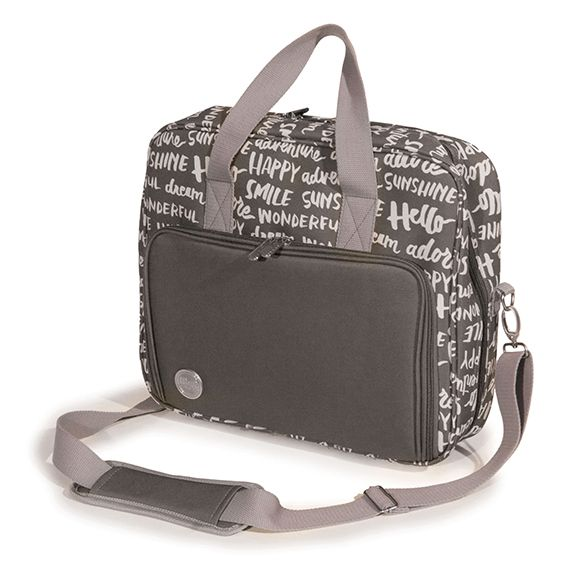 We r memory keepers crafter 39 s shoulder bag charcoal for We r memory keepers craft bag