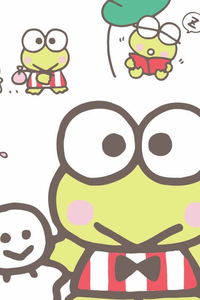 Keroppi Keroppi Wallpaper Sanrio Hello Kitty Hello Kitty My Melody