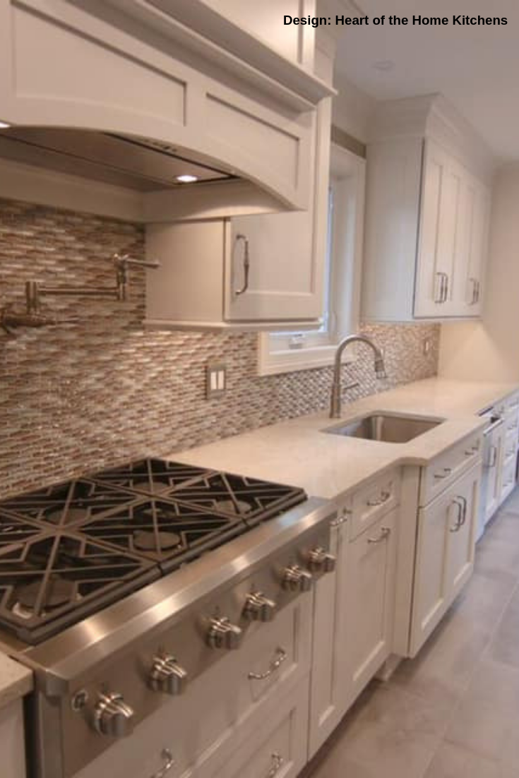 Apex Silver Dawn Glass Wall Tile In 2020 Kitchen Backsplash