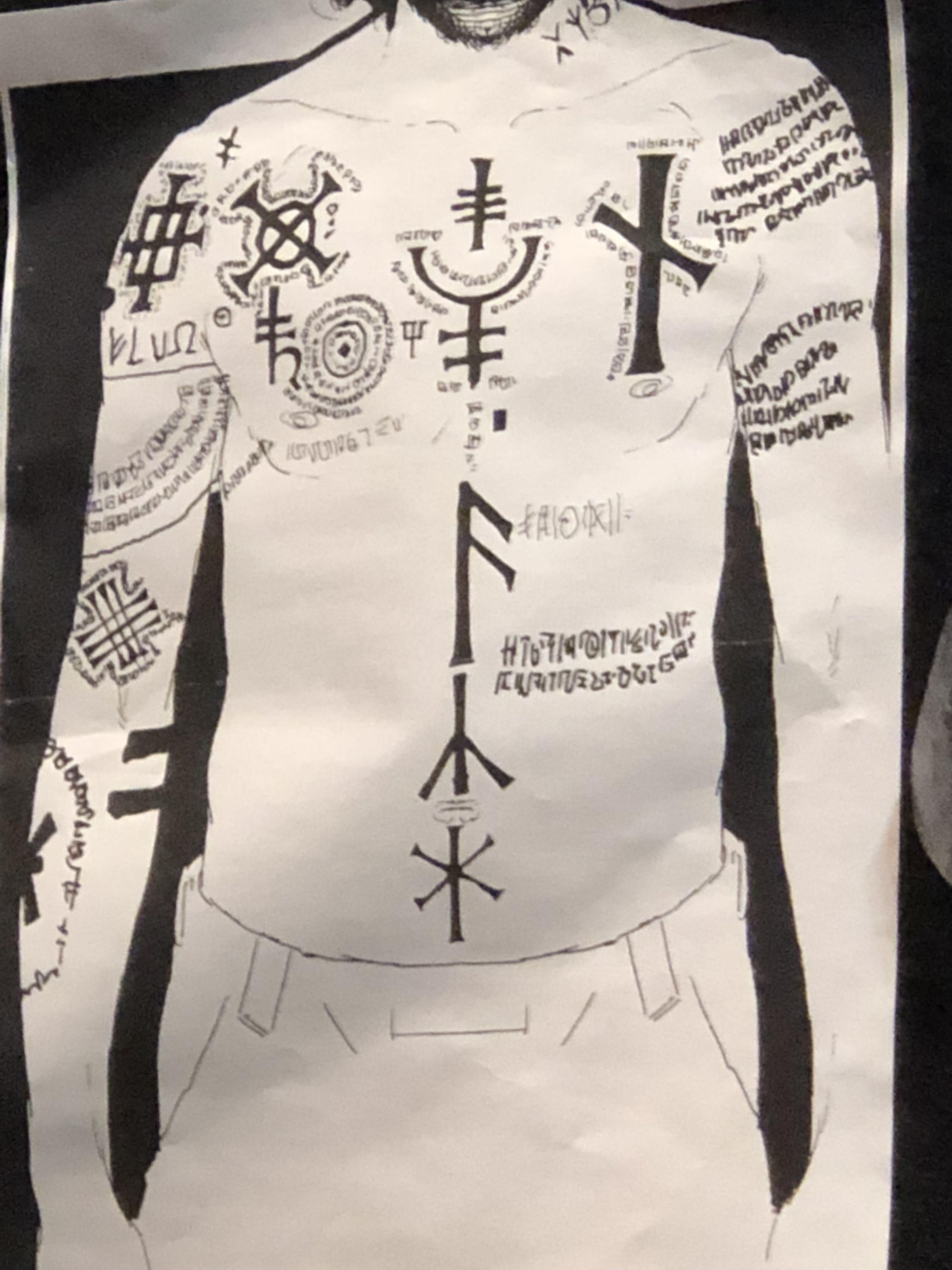 Prison sirius tattoos black Sirius Black