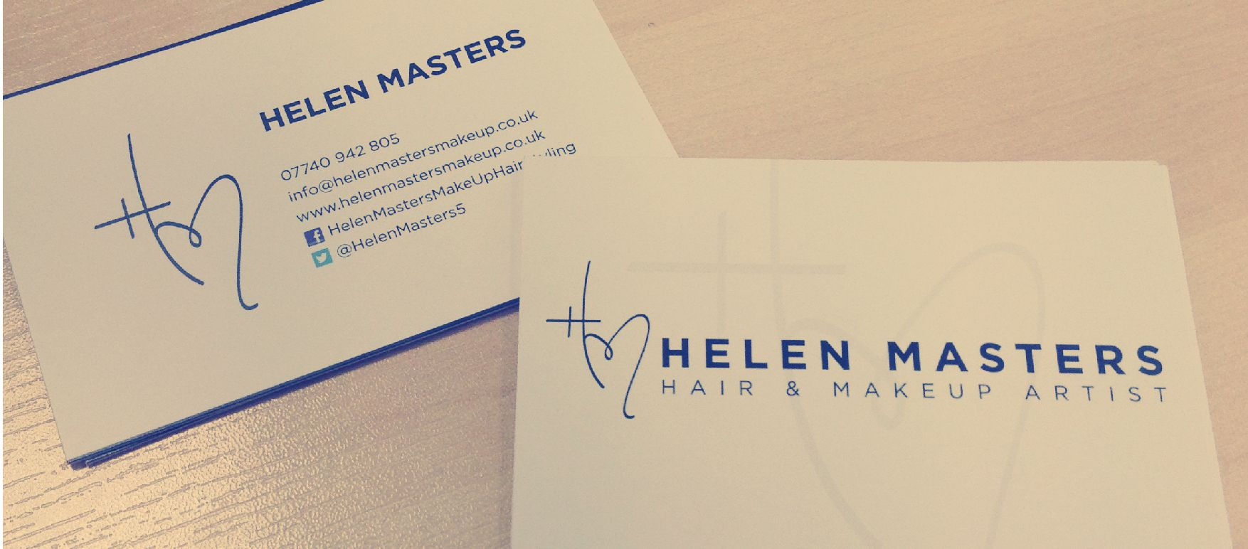 Helen master hair and makeup business card design design by helen master hair and makeup business card design colourmoves Images