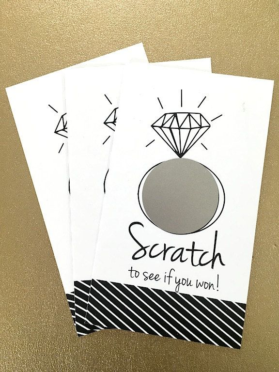 reserved set of 24 cards bridal shower game scratch off cards blackwhite hipster modern wedding
