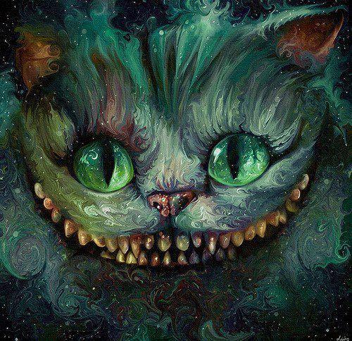 Sorriso Do Gato Cat Alice Alice E Pais Das Maravilhas