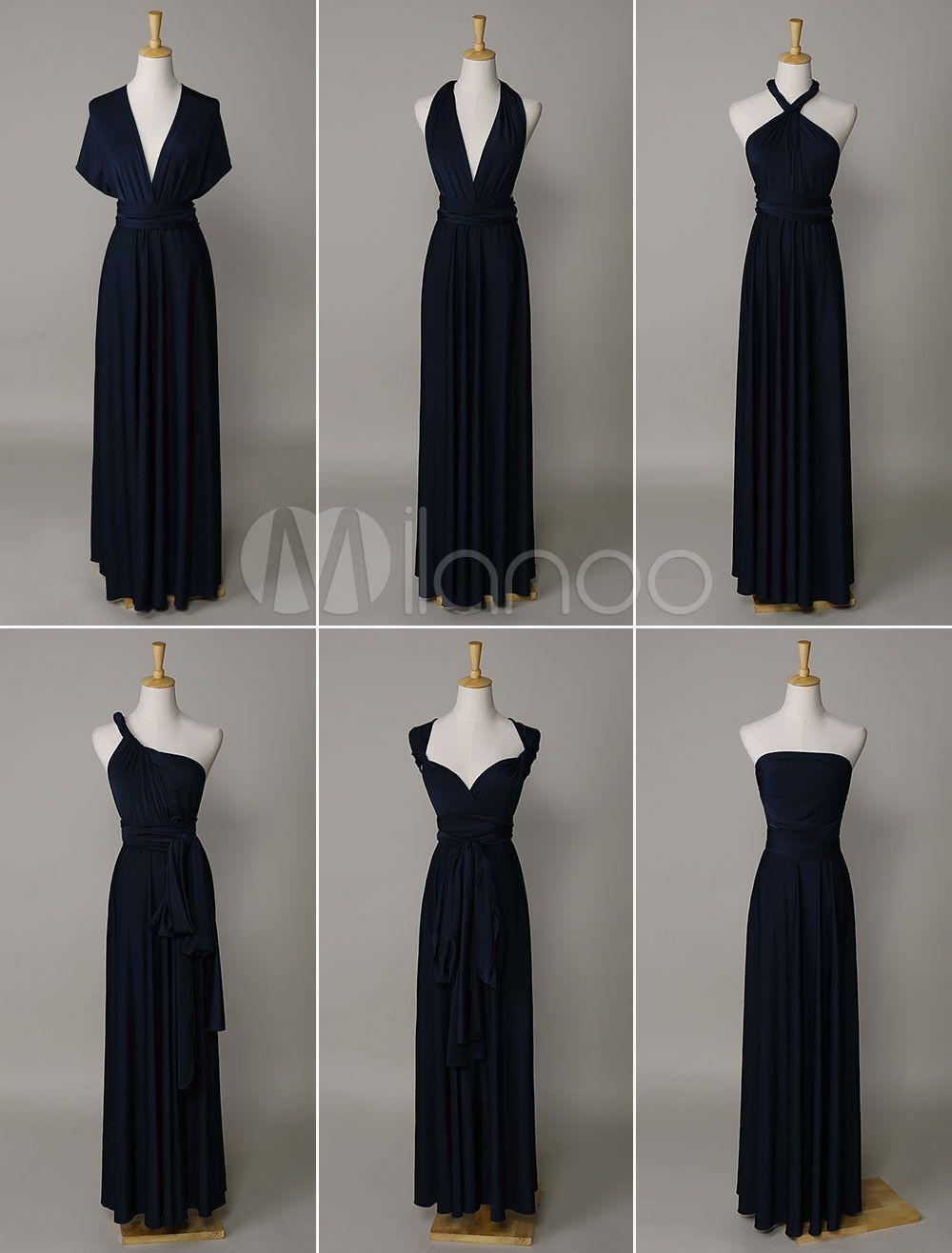 Convertible Evening Dress Navy Blue(convertible Infinity