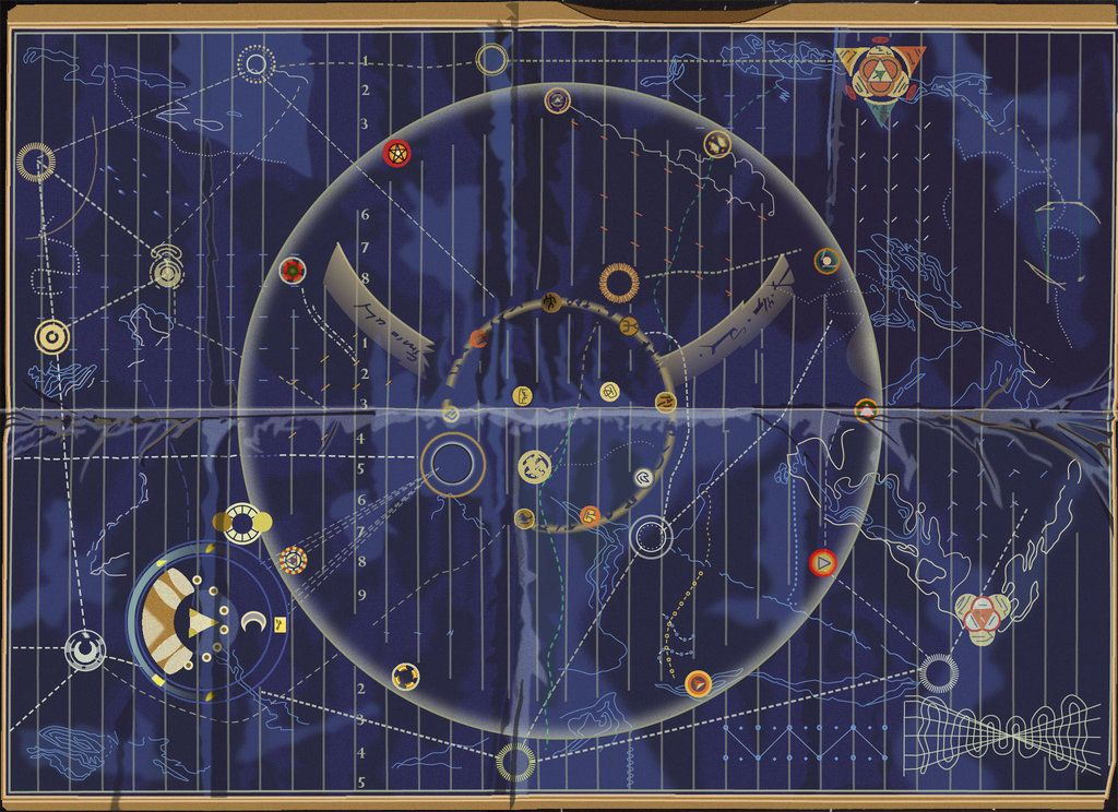 time bandits map by fatal noogie