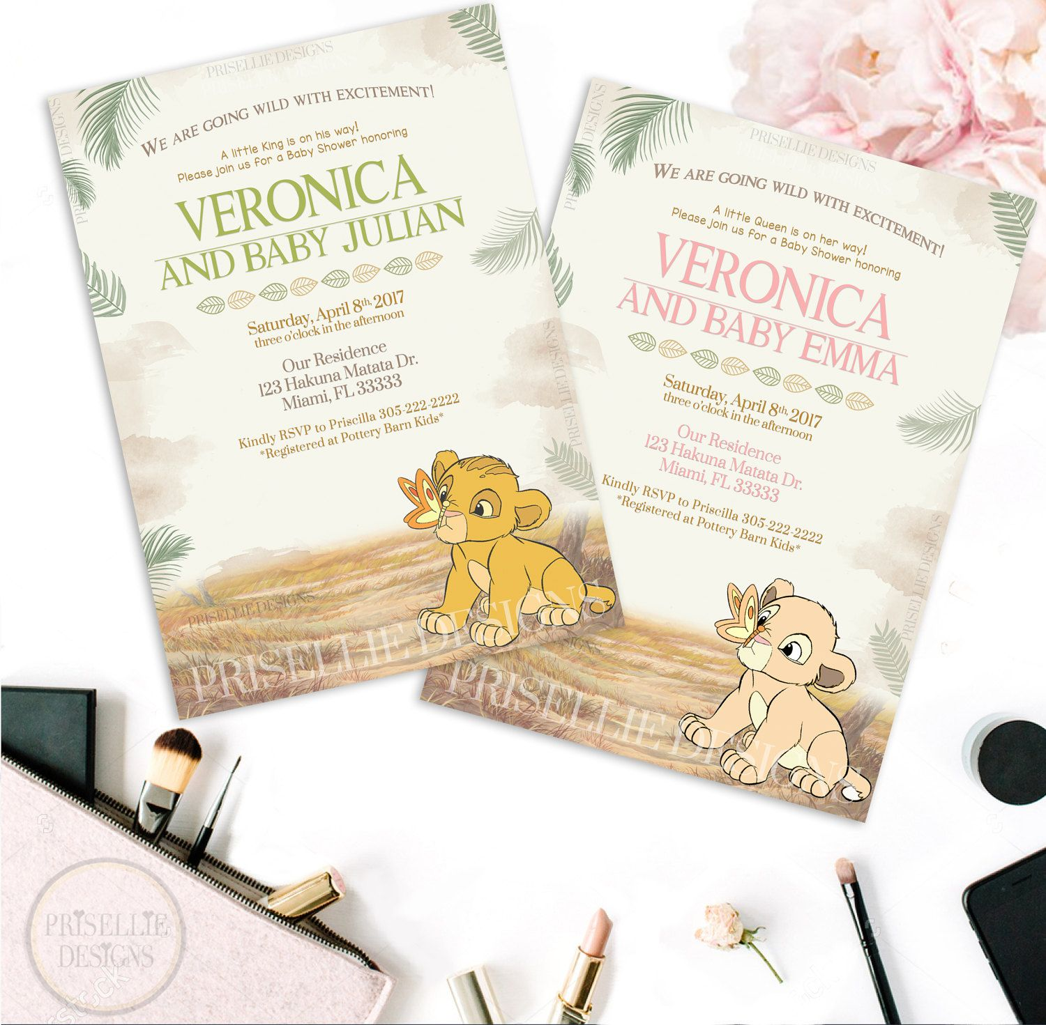 Simba baby shower invitation nala baby shower invitation lion king simba baby shower invitation nala baby shower invitation lion king baby shower invitation filmwisefo Gallery