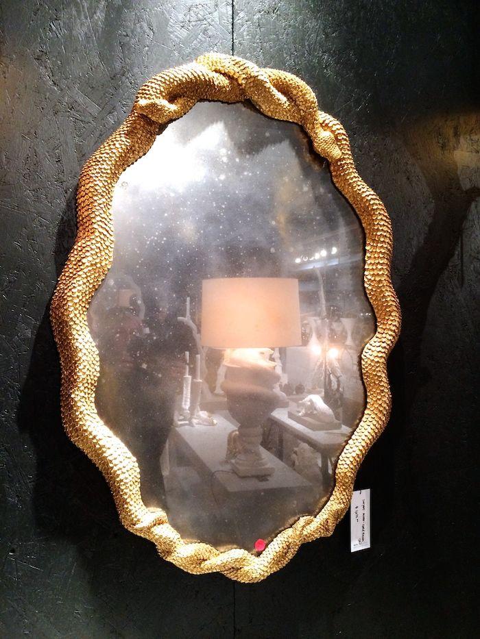 Amazing Snake Mirror At Arete Www Alwayssummerblog Com