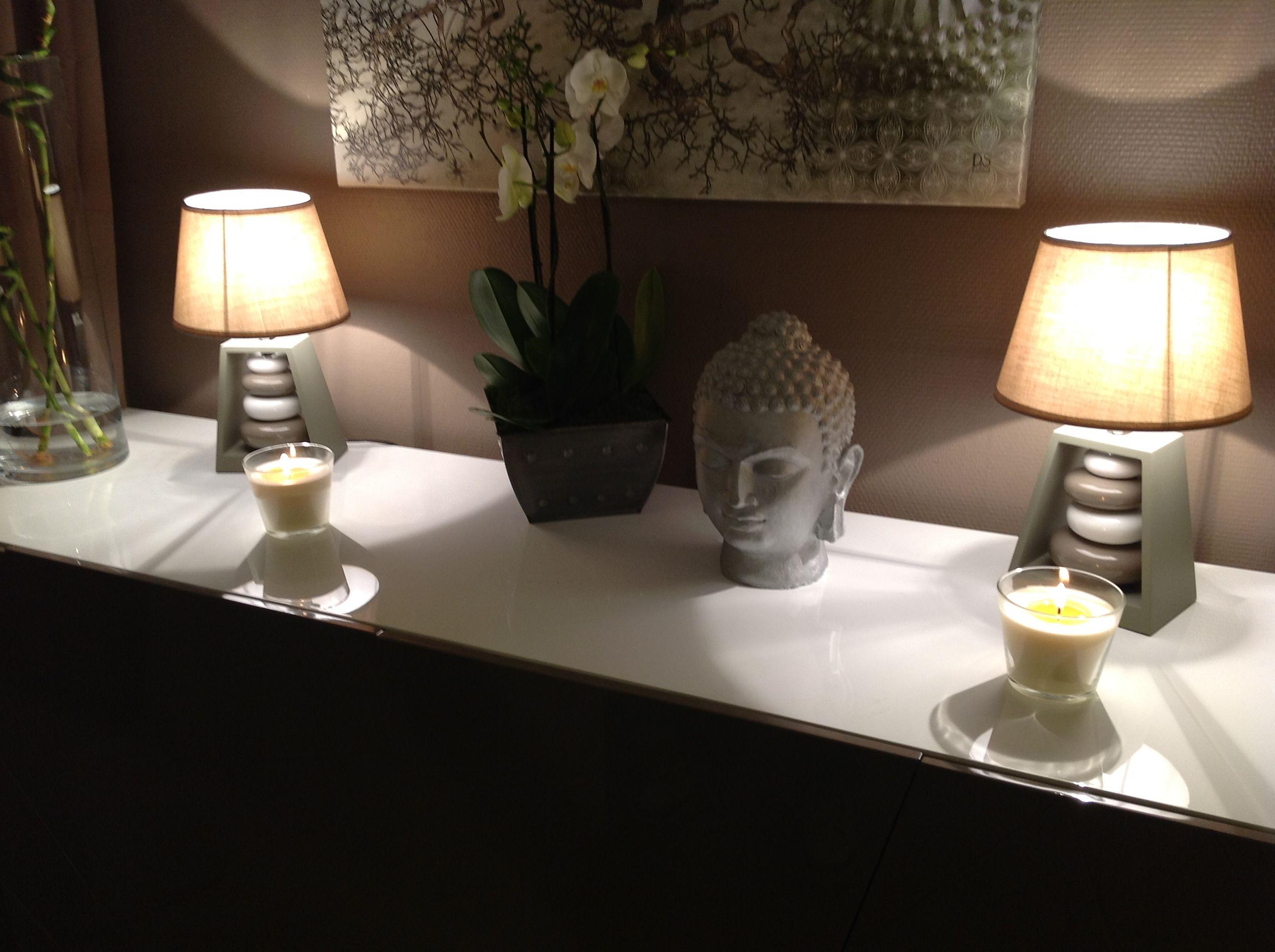Lampes A Poser Ambiance Zen Soline Deco Zen Deco Et Salons