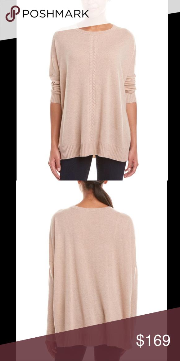 NWOT: Magaschoni oversized cashmere sweater tunic | Cashmere ...