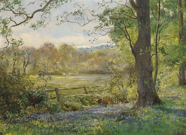 Springtime by Vicat Cole