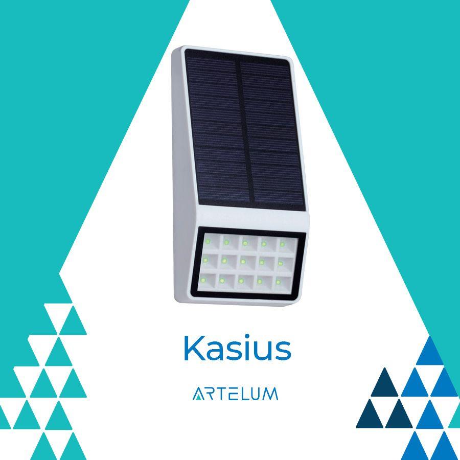 Luminarias Solares Kasius Paneles Solares Sensores De Movimiento Led
