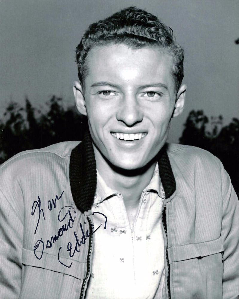Eddie Haskell Quotes Osmond Signed 8X10 Leave It To Beaver Photo  Autograph
