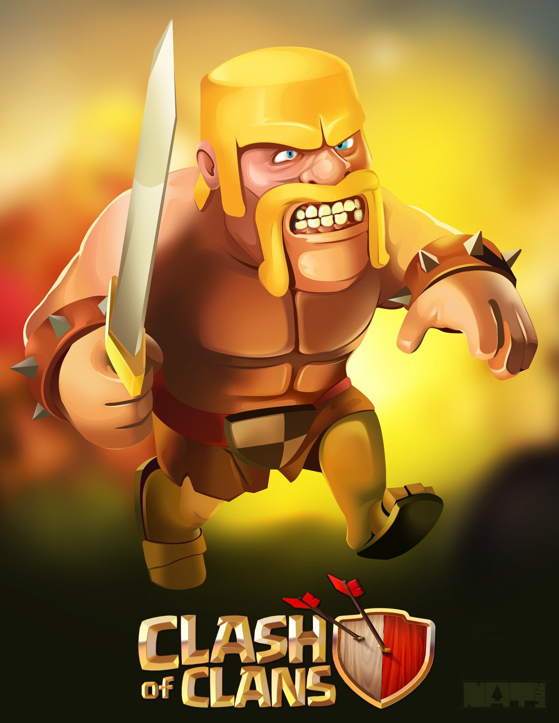 clash of clans hd iphone   Illustrations et affiches ...