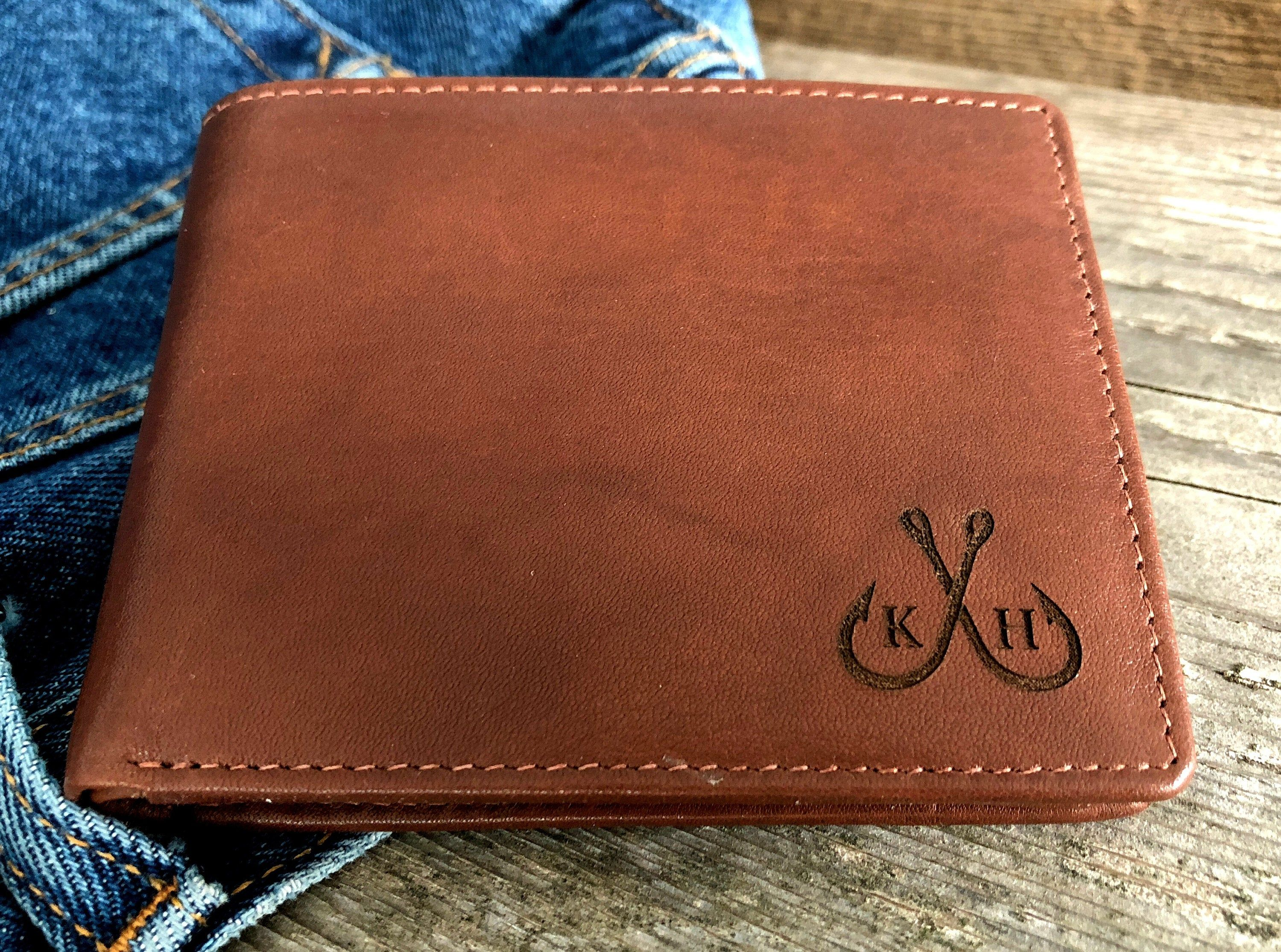 Personalized  Coin Wallet,Personalized Wallet,Leather Wallet,Engraved Wallet Monogram Wallet,Unique Coin Wallet,Leather Coin Wallet,Wood