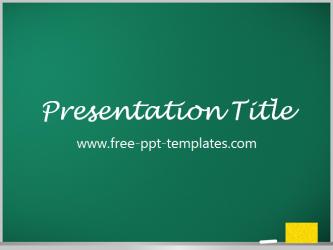 Blackboard powerpoint template is a green template which you can blackboard powerpoint template is a green template which you can use to make an elegant and toneelgroepblik Image collections