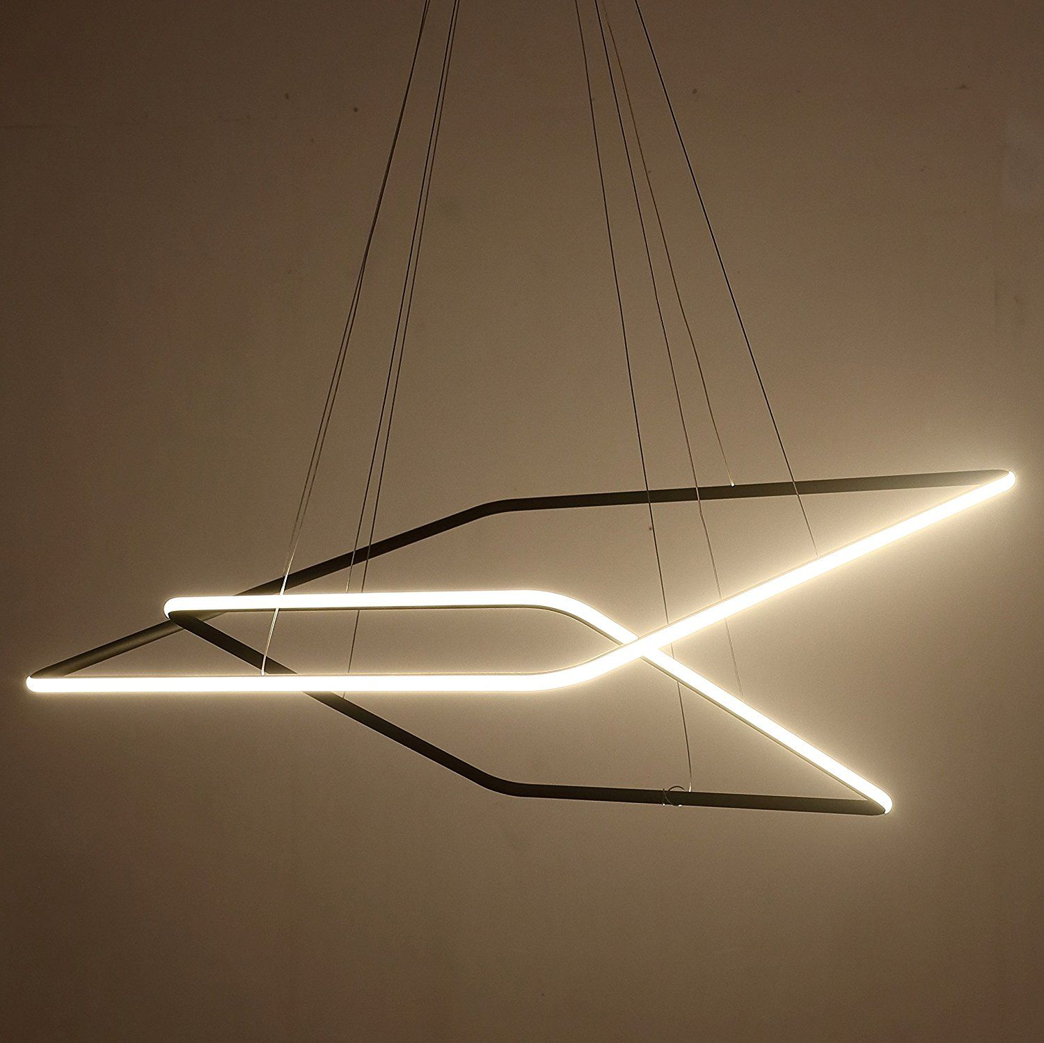 funky lighting ideas. Funky Lighting · Saint Mossi® Exclusive Design Modern Square Led Chandelier Ideas