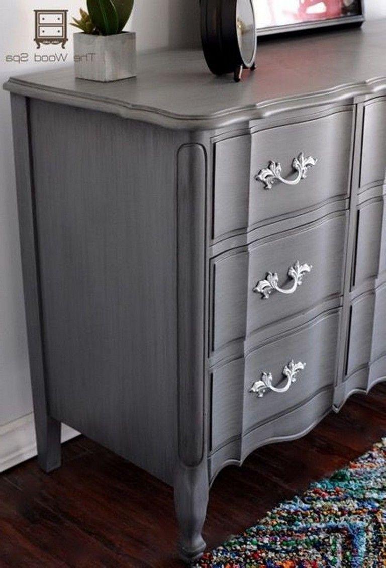 46 Marvelous Grey Chalk Paint Furniture Ideas Page 10 Of 48 Grey Painted Furniture Chalk Paint Bedroom Furniture Chalk Paint Furniture