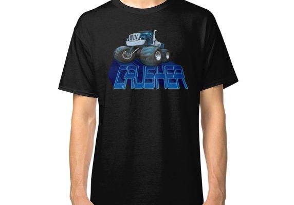 Crusher Blaze And The Monster Machines Classic T Shirt