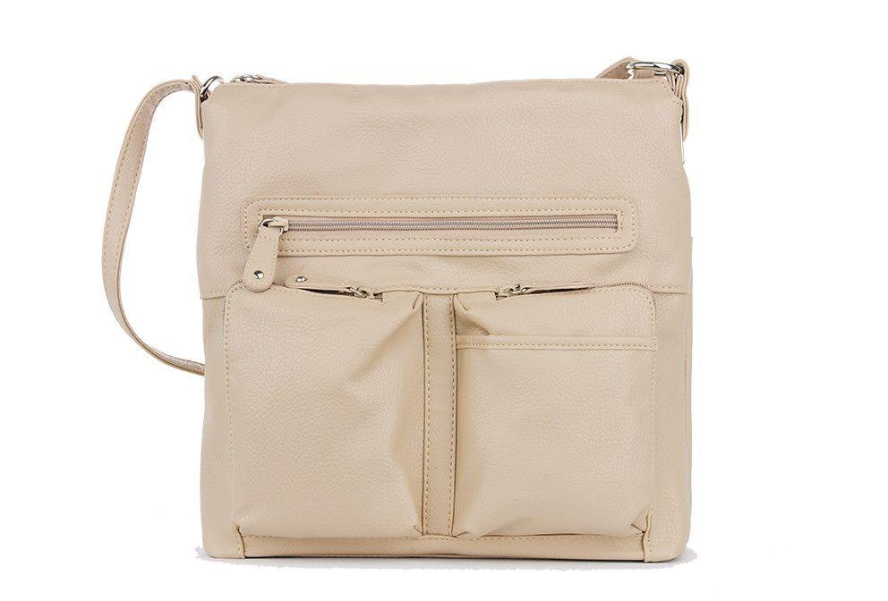 Pebble Grain Hobo Shoulder Bag
