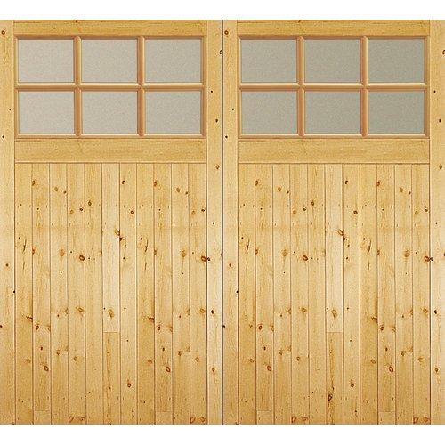 Jeld Wen Unfinished Glazed External Garage Door Glazed External Doors External Doors Garage Doors