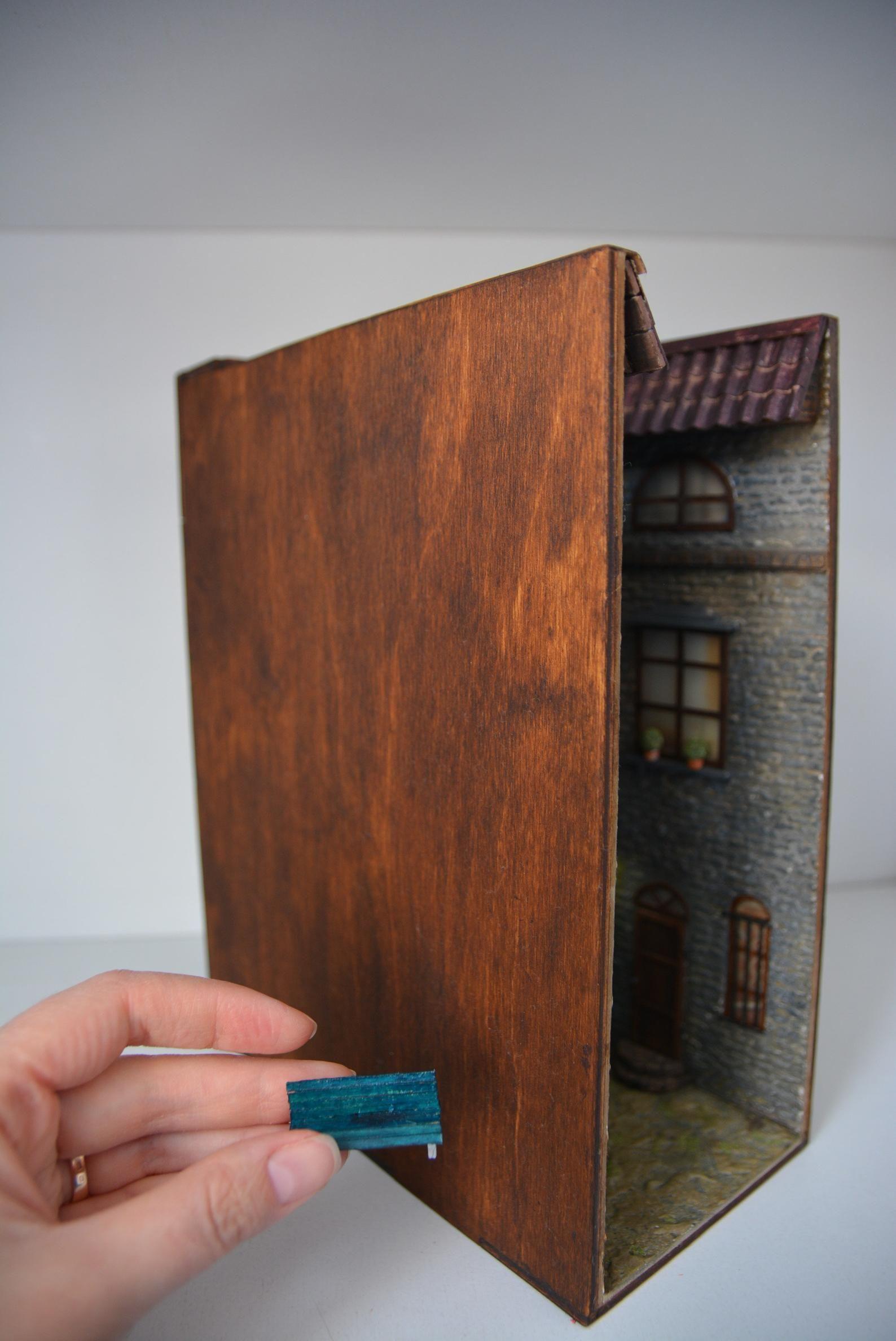 30+ Book nook shadow box info