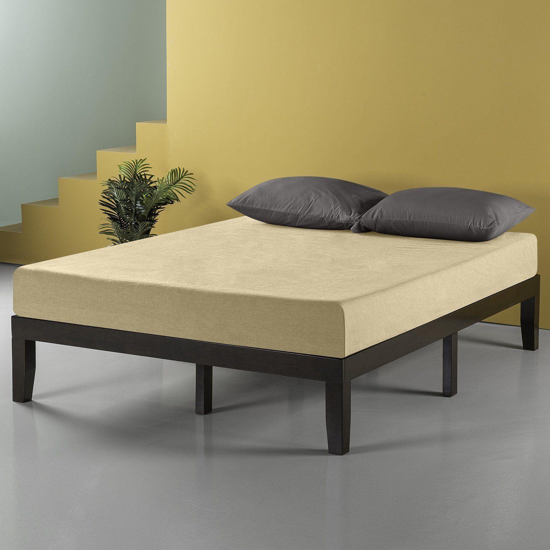 Zinus 14 Inch Wood Platform Bed/No Box Spring