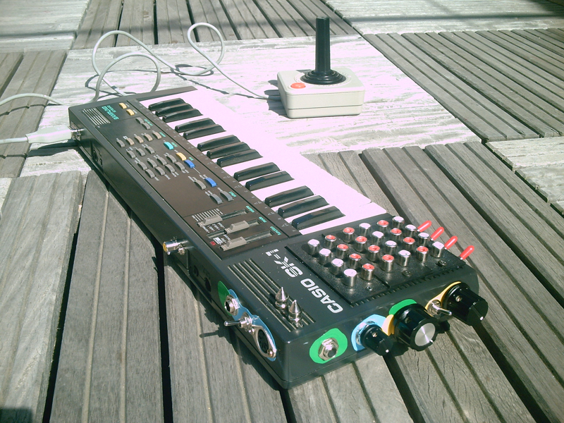 Circuit Bent Casio Sk1 With True Pitch Control By Greightbit 22000
